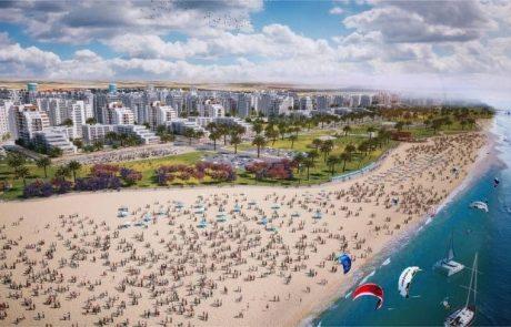 באיזה עיר עוד אפשר לקנות קרקע מאושרת לבנייה על קו החוף של ישראל?